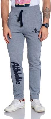 Tab 91 Solid Men's Grey Track Pants