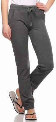 Fasnoya Solid Women's Grey, Black Track Pants
