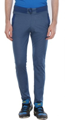 Glasgow Self Design Men's Light Blue Track Pants