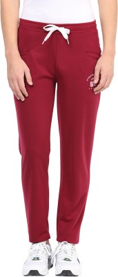 Atorse Solid Men,s Maroon Track Pants