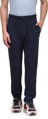 Alfa Plus Premium Solid Men's Blue Track Pants
