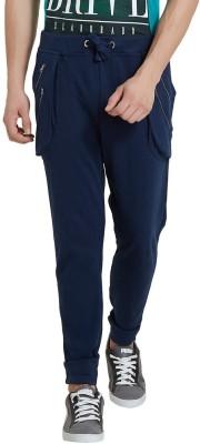 Elaborado Solid Men's Blue, Dark Blue Track Pants