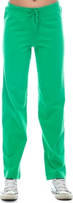 Virsa Show Off Solid Men's Green Track Pants
