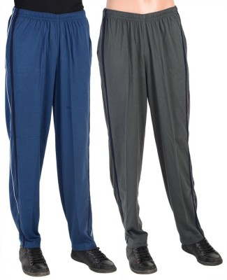 Gazelle Active Solid Men's Grey, Blue Track Pants