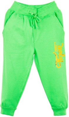 Oye Printed Boy's Green Track Pants