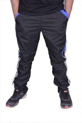 US Club Adi Solid Men's Black, Blue Track Pants
