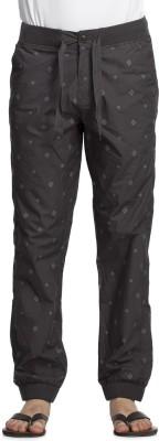 Beevee Printed Men's Grey Track Pants
