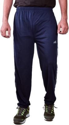 Ave Solid Men's Blue Track Pants