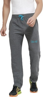 London Bee Solid Men's Grey Track Pants