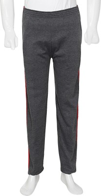 Amazing Striped Men's Grey Track Pants