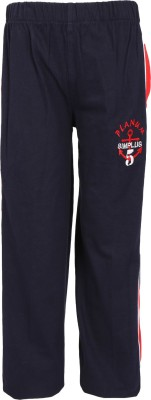 Triki 102-Navy Blue Striped Boy's Blue Track Pants