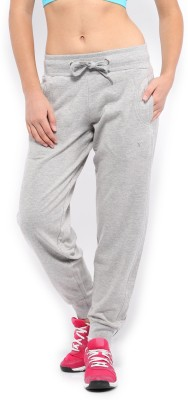 HRX by Hrithik Roshan Solid Women's Grey Track Pants