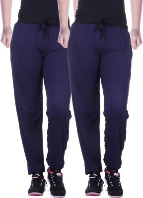 Gag Wear Solid Womens Multicolor Track Pants