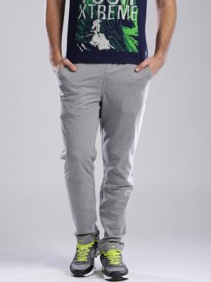 HRX by Hrithik Roshan Solid Men's Grey Track Pants