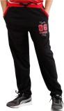 Fizzi Pro Solid Men's Black Track Pants