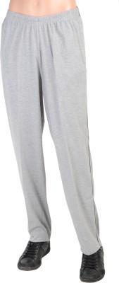 Gazelle Solid Men's Silver Track Pants