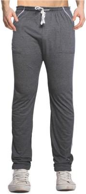 Smart Look 7 Solid Men's Grey Track Pants