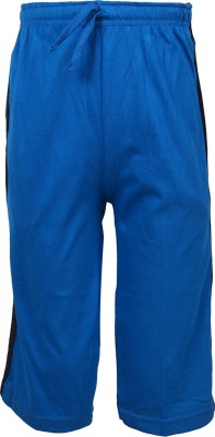 Jazzup Jogger Track Pants Solid Boy's Blue Track Pants