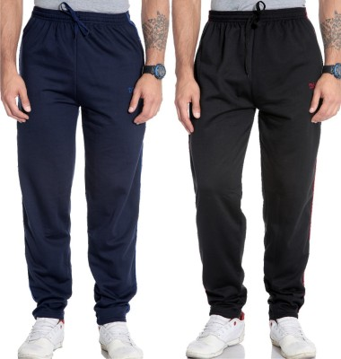 Tab 91 Solid Men's Blue, Black Track Pants