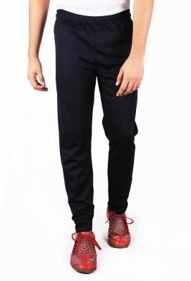 Repugn Solid Men's Dark Blue Track Pants