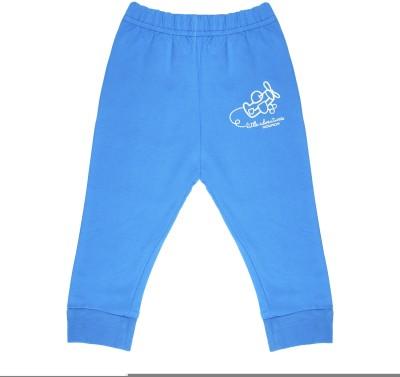 Wow Mom Printed Baby Boy,s Light Blue Track Pants