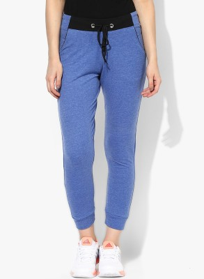 ESPRESSO Solid Women's Blue Track Pants