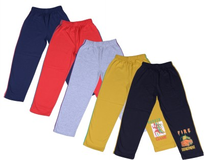 Provalley Printed Boy's Multicolor Track Pants