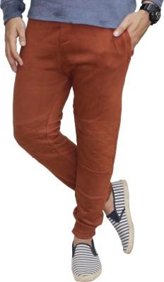 Body Tantrum Solid Men,s Brown Track Pants