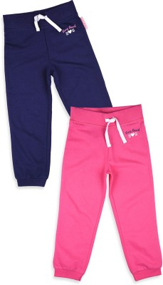 Mothercare Solid Girl's Blue, Pink Track Pants
