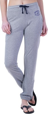 Wake Up Competition Solid Women's Grey Track Pants