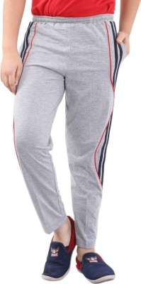 Fizzi Solid Men's Grey Track Pants