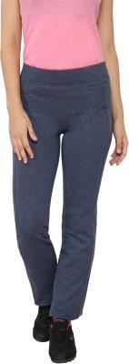 My Secret Comfortable Solid Women's Blue Track Pants