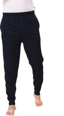 Kanter Solid Men's Dark Blue, Blue Track Pants
