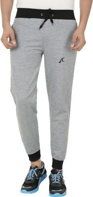 Kraasa Solid Men's Grey Track Pants