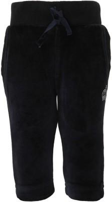 Cayman Solid Girl's Dark Blue Track Pants
