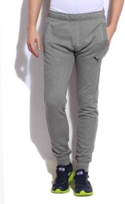 Puma Solid Men's Grey Track Pants