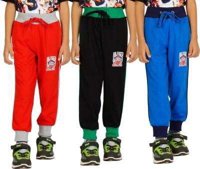 Shaun Solid Boy's Multicolor Track Pants