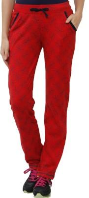 Sweet Dreams Printed Women's Red Track Pants
