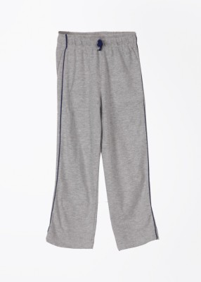 Day 2 Day Solid Boy's Grey Track Pants