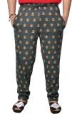 bexter Printed Men's Grey Track Pants