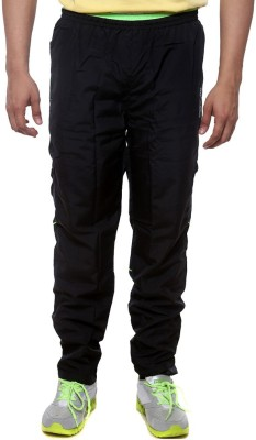 Sports 52 Wear T1295 Solid Men's Black, Green Track Pants