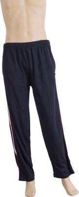 Karwan International Solid Men's Black Track Pants