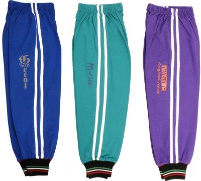 Doller Solid Boys Multicolor Track Pants