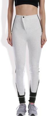 HRX by Hrithik Roshan Solid Women's White Track Pants at flipkart