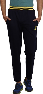 sporty culture Solid Men's Blue, Yellow Track Pants