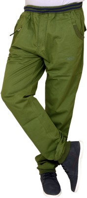 Coco Trend Men's Green Track Pants