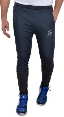 Surly Self Design Men's Grey, Black Track Pants