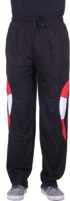 Belmarsh Solid Men's Black Track Pants