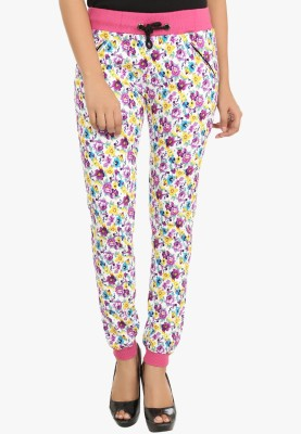 Fashion Cult Floral Print Women's Multicolor Track Pants