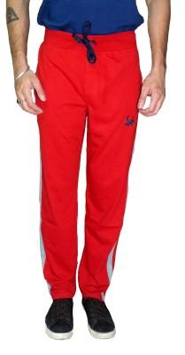 Gen Solid Men,s Red Track Pants